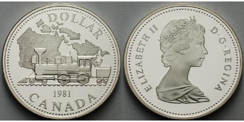 1 Dollaro Canada Argento