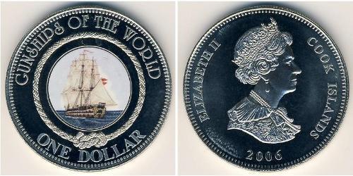 1 Dollaro Isole Cook Rame/Nichel