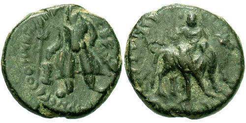 1 Drachm Kushan Empire (60-375) Bronze