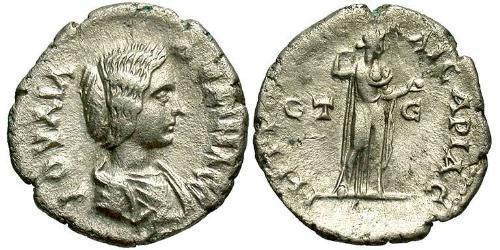 1 Drachm Roman Empire (27BC-395) Silver Julia Domna (?-217)