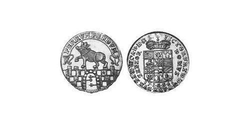 1 Ducat Anhalt-Bernburg (1603 - 1863) Gold Victor Frederick, Prince of Anhalt-Bernburg (1700 – 1765)