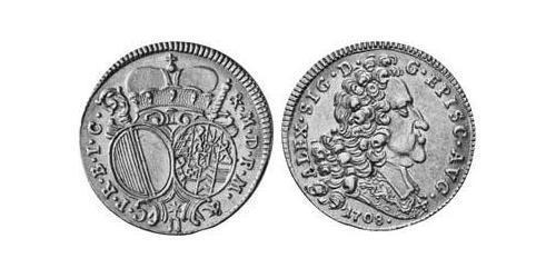 1 Ducat Imperial City of Augsburg (1276 - 1803) Gold Alexander Sigismund von der Pfalz-Neuburg (1663–1737)