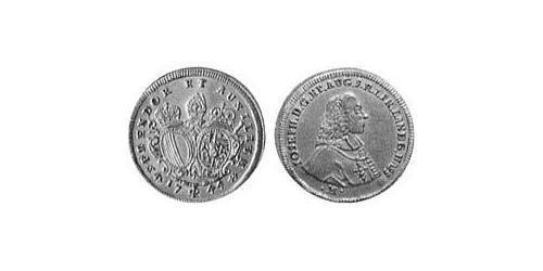1 Ducat Imperial City of Augsburg (1276 - 1803) Gold Joseph II, Holy Roman Emperor  (1741 - 1790)