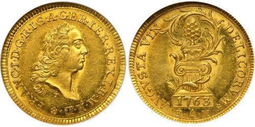 1 Ducat Imperial City of Augsburg (1276 - 1803) Gold Francis I, Holy Roman Emperor (1708-1765)
