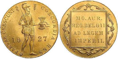 1 Ducat Königreich der Niederlande (1815 - ) Gold