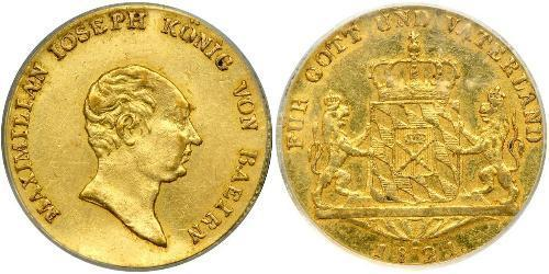 1 Ducat Kingdom of Bavaria (1806 - 1918) Gold Maximilian I Joseph of Bavaria (1756 - 1825)