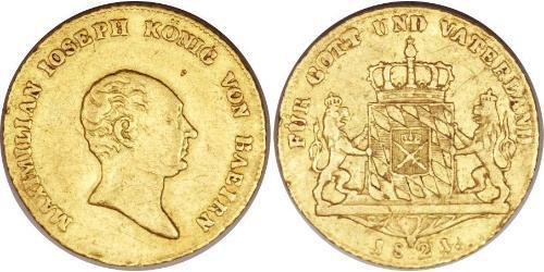1 Ducat Kingdom of Bavaria (1806 - 1918) Gold