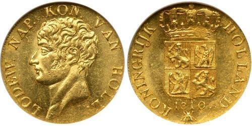 1 Ducat Kingdom of Holland (1806 - 1810) Gold