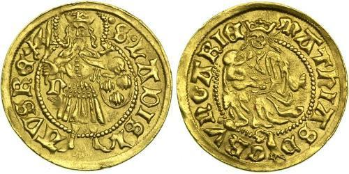 1 Ducat Kingdom of Hungary (1000-1918) Gold Matthias Corvinus of Hungary  (1443 -1490)