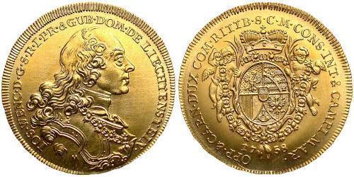 1 Ducat Liechtenstein Gold