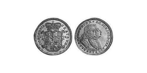 1 Ducat Principality of Anhalt-Zerbst (1544 - 1796) Gold John Louis II, Prince of Anhalt-Zerbst (1688 – 1746)