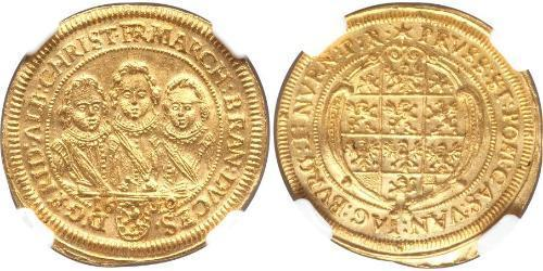 1 Ducat Principality of Ansbach (1398–1792) Gold