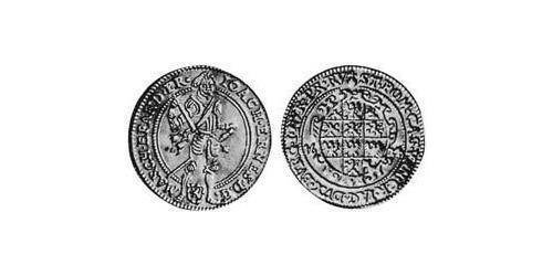 1 Ducat Principality of Ansbach (1398–1792) Gold Joachim Ernst, Margrave of Brandenburg-Ansbach (1583 – 1625)