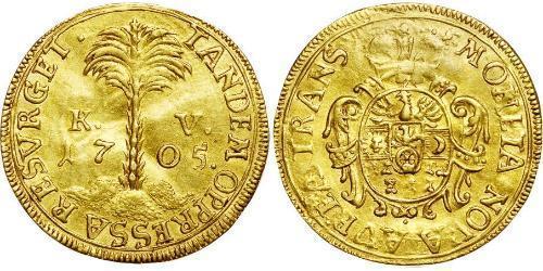 1 Ducat Principality of Transylvania (1571-1711) Gold Francis II Rákóczi (1676 – 1735)