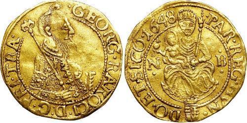 1 Ducat Principality of Transylvania (1571-1711) Gold György Rákóczi I (1593-1648)