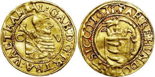 1 Ducat Principality of Transylvania (1571-1711) Gold Gabriel Báthory (1589 – 1613)