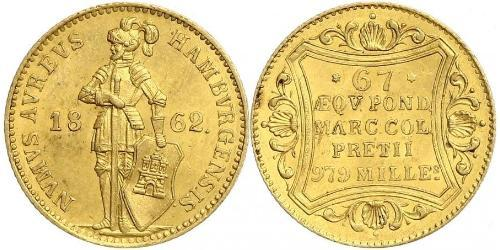 1 Ducat Amburgo Oro