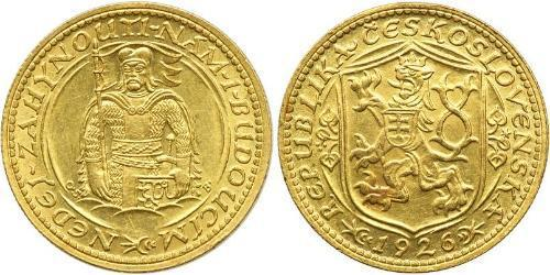 1 Ducat Cecoslovacchia  (1918-1992) Oro