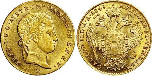 1 Ducat Impero austriaco (1804-1867) Oro Ferdinand I of Austria (1793 - 1875)