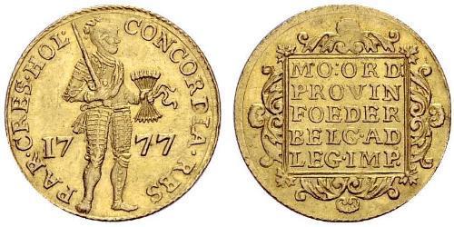 1 Ducat Provincias Unidas de los Países Bajos (1581 - 1795) Oro