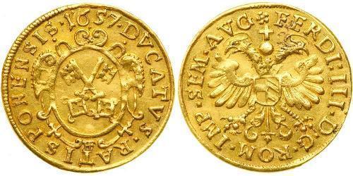 1 Ducat Stati federali della Germania Oro