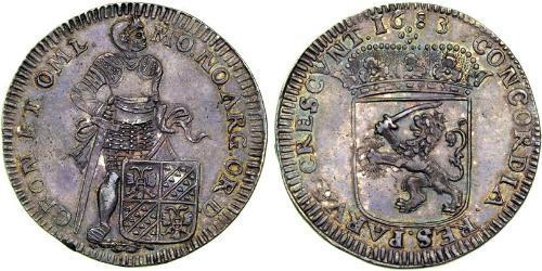 1 Ducat Dutch Republic (1581 - 1795) Silver