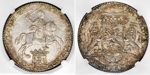 1 Ducaton 荷蘭共和國 (1581 - 1795) 銀