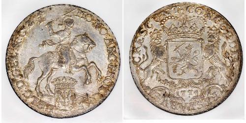 1 Ducaton Austrian Netherlands (1713-1795) 銀