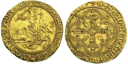1 Ecu Kingdom of France (843-1791) Gold Francis II, Duke of Brittany (1433 – 1488)
