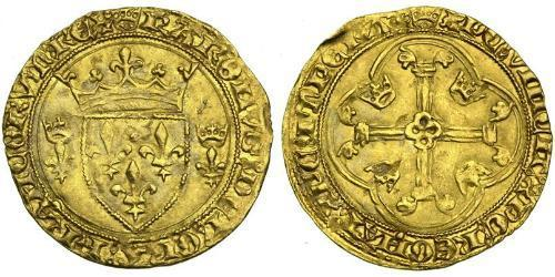 1 Ecu Kingdom of France (843-1791) Gold Charles VII of France (1403 - 1461)