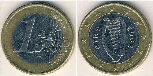 1 Euro Ireland (1922 - ) Bimetal