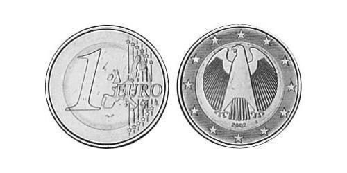 1 Euro Federal Republic of Germany (1990 - ) Brass