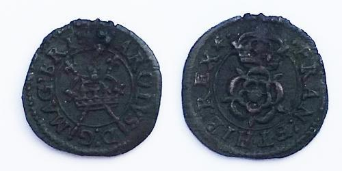 1 Farthing Kingdom of England (927-1649,1660-1707) Bronze Charles I (1600-1649)
