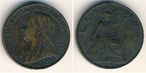 1 Farthing Feriind Kiningrik (1707 - ) Cuivre