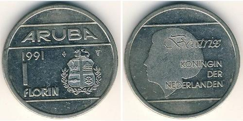 1 Florin Aruba Copper-Nickel