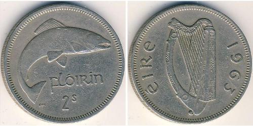 1 Florin Ireland (1922 - ) Copper/Nickel