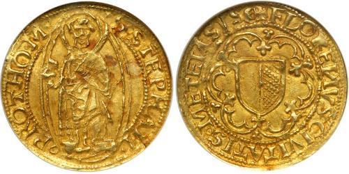 1 Florin Kingdom of France (843-1791) Gold