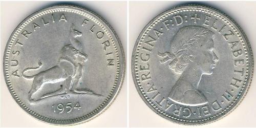 1 Florin Australia (1939 - ) Silver