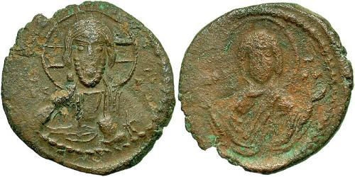 1 Follis Byzantine Empire (330-1453) Bronze Romanos IV Diogenes (1030-1072)