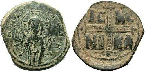 1 Follis Byzantine Empire (330-1453) Bronze Michael IV (1010-1041)