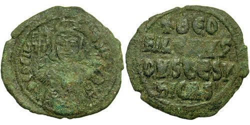 1 Follis Byzantine Empire (330-1453) Bronze Theophilus (813-842)
