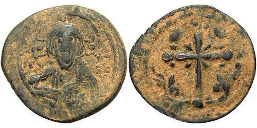 1 Follis Byzantine Empire (330-1453) Bronze Nicephorus III Botaniates (1020-1081)