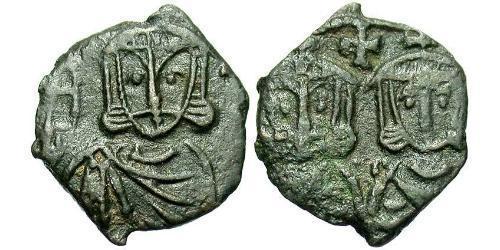 1 Follis Byzantine Empire (330-1453) Bronze Constantine V (718-775)