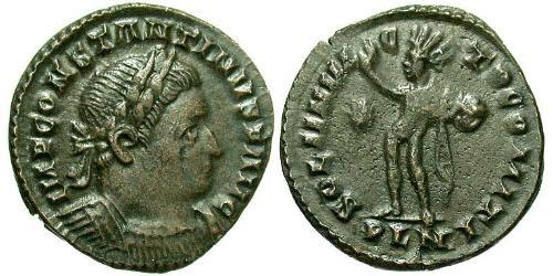 1 Follis Römische Kaiserzeit (27BC-395) Bronze Konstantin I (272 - 337)