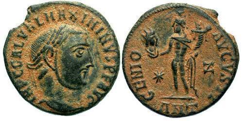 1 Follis Roman Empire (27BC-395) Bronze Maximinus II (270 - 313)