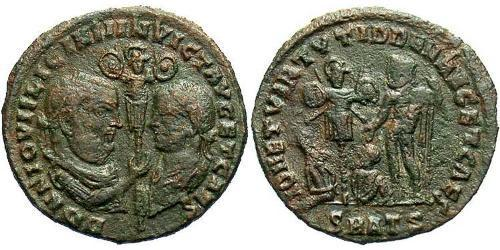 1 Follis Roman Empire (27BC-395) Bronze Licinius II (315-326)