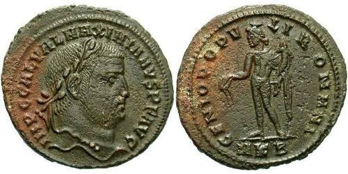 1 Follis Roman Empire (27BC-395) Bronze Galerius Maximianus (260-311)