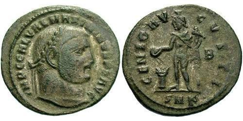 1 Follis Roman Empire (27BC-395) Bronze Maximinus II (270 - 313)