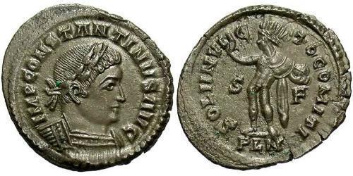 1 Follis Roman Empire (27BC-395) Bronze Constantine I (272 - 337)
