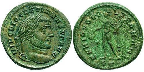1 Follis Roman Empire (27BC-395) Bronze Diocletian (244-311)